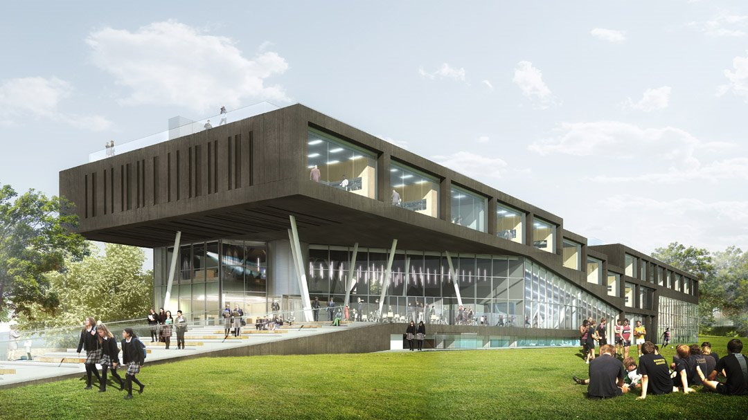 Brighton College Sports Science building visualisation